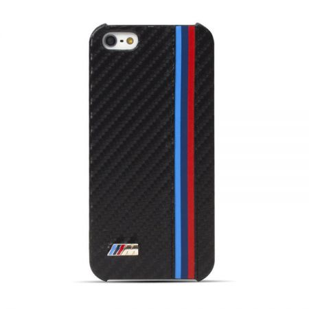 BMW M Collection Carbon Effect Obudowa dla Apple iPhone 6 Plus/6S Plus (czarny)
