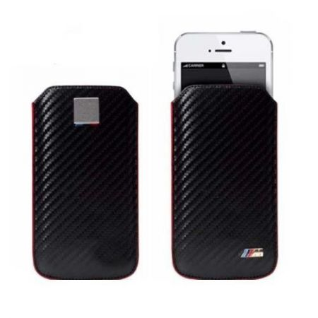 BMW M Edition Carbon Sleeve - Etui iPhone 5/5S (czarny)