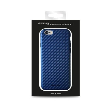 Etui Italia Independent Carbon - Apple iPhone 6 - Neibieskie