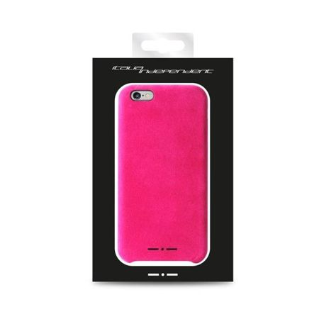 Etui Italia Independent Velvet - iPhone 6 - Różowe