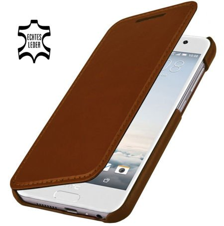 Etui Stilgut Book HTC One A9 Koniakowe