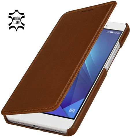 Etui Stilgut Book Huawei Honor 7 Koniakowe
