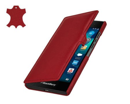 Etui Stilgut UltraSlim Book Blackberry Leap Czerwone