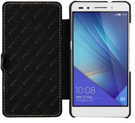 Etui Stilgut UltraSlim Book Huawei Honor 7 Czarne
