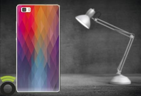 Etui Zolti UItra Slim Case - Huawei P8 Lite - Abstract - Wzór A11