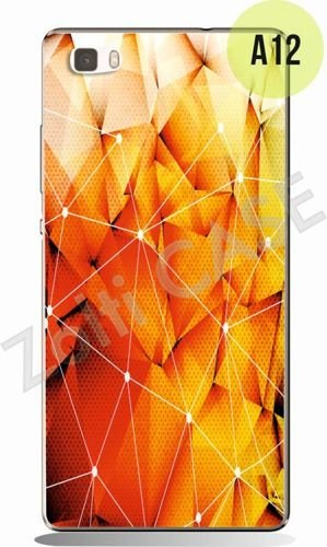 Etui Zolti UItra Slim Case - Huawei P8 Lite - Abstract - Wzór A12