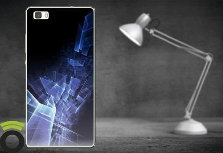 Etui Zolti UItra Slim Case - Huawei P8 Lite - Abstract - Wzór A13