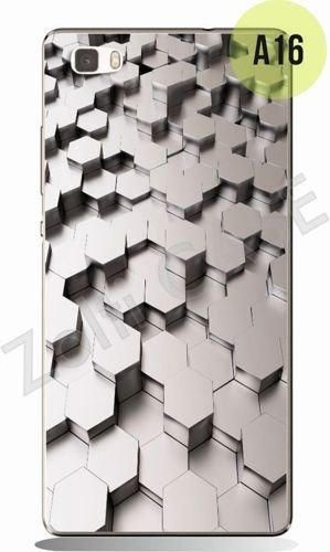 Etui Zolti UItra Slim Case - Huawei P8 Lite - Abstract - Wzór A16