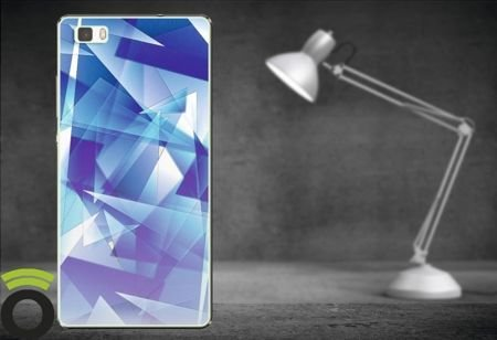 Etui Zolti UItra Slim Case - Huawei P8 Lite - Abstract - Wzór A3