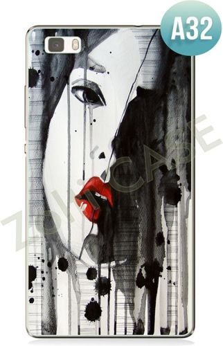 Etui Zolti UItra Slim Case  - Huawei P8 Lite - Abstract - Wzór A32