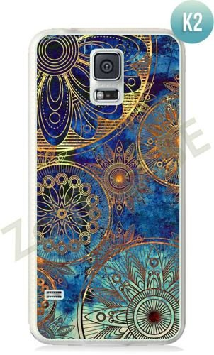 Etui Zolti Ultra Slim Case - Galaxy S5 - Colorfull- Wzór K2