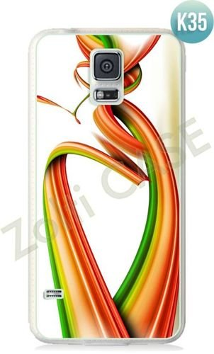 Etui Zolti Ultra Slim Case - Galaxy S5 - Colorfull - Wzór K35