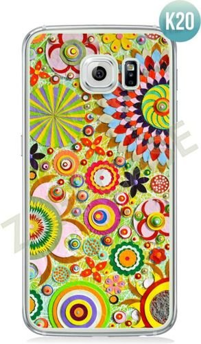 Etui Zolti Ultra Slim Case - Galaxy S6 - Colorfull - Wzór K20