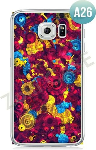 Etui Zolti Ultra Slim Case - Galaxy S6 Edge - Abstract - Wzór A26
