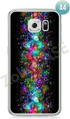 Etui Zolti Ultra Slim Case - Galaxy S6 Edge - Abstract - Wzór A4