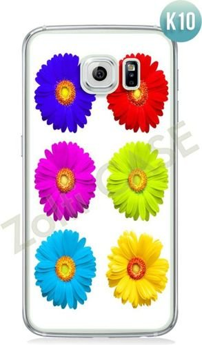 Etui Zolti Ultra Slim Case - Galaxy S6 Edge - Colorfull - Wzór K10