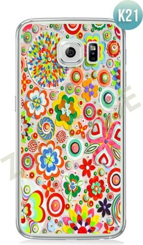 Etui Zolti Ultra Slim Case - Galaxy S6 Edge - Colorfull - Wzór K21