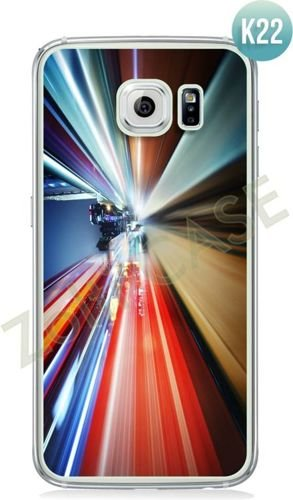 Etui Zolti Ultra Slim Case - Galaxy S6 Edge - Colorfull - Wzór K22