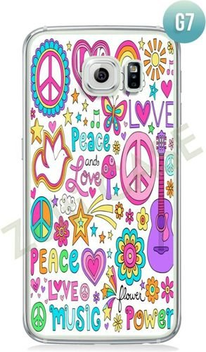 Etui Zolti Ultra Slim Case - Galaxy S6 Edge - Girls Stuff - Wzór G7