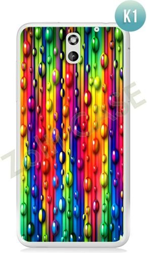 Etui Zolti Ultra Slim Case - HTC Desire 610 - Colorfull - Wzór K1
