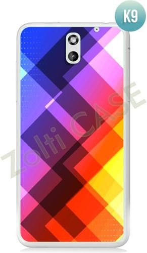 Etui Zolti Ultra Slim Case - HTC Desire 610 - Colorfull - Wzór K9