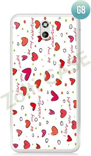 Etui Zolti Ultra Slim Case - HTC Desire 610 - Girls Stuff - Wzór G8