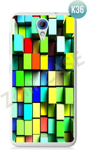 Etui Zolti Ultra Slim Case - HTC Desire 620 - Colorfull - Wzór K36