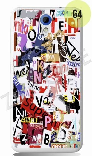 Etui Zolti Ultra Slim Case - HTC Desire 620 - Girls Stuff - Wzór G4