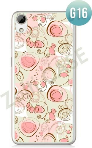 Etui Zolti Ultra Slim Case - HTC Desire 626 - Girls Stuff - Wzór G16