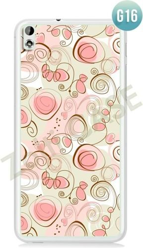 Etui Zolti Ultra Slim Case - HTC Desire 816 - Girls Stuff - Wzór G16
