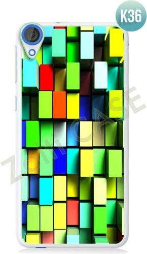 Etui Zolti Ultra Slim Case - HTC Desire 820 - Colorfull - Wzór K36