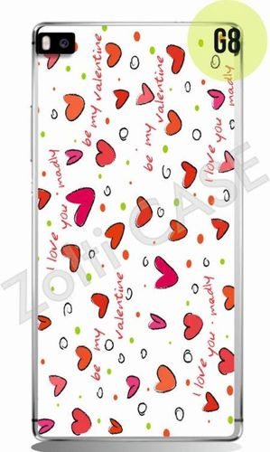 Etui Zolti Ultra Slim Case - Huawei P8 - Girls Stuff - Wzór G8