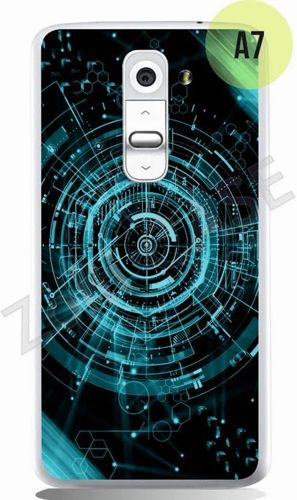 Etui Zolti Ultra Slim Case - LG G2 mini - Abstract - Wzór A7