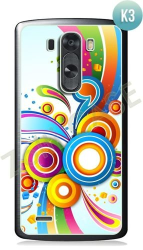 Etui Zolti Ultra Slim Case - LG G3 - Colorfull - Wzór K3