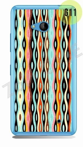 Etui Zolti Ultra Slim Case - Lumia 640 - Girls Stuff - Wzór G11