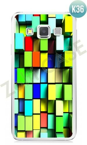 Etui Zolti Ultra Slim Case - Samsung Galaxy A3 - Colorfull - Wzór K36