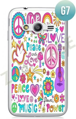 Etui Zolti Ultra Slim Case - Samsung Galaxy Ace 4 - Girls Stuff - Wzór G7