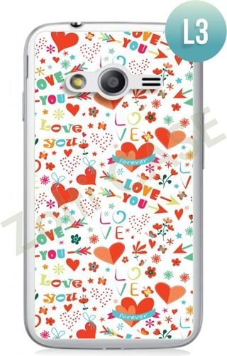Etui Zolti Ultra Slim Case - Samsung Galaxy Ace 4  - Romantic - Wzór L3