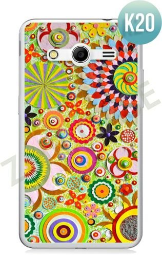 Etui Zolti Ultra Slim Case - Samsung Galaxy Core 2 - Colorfull - Wzór K20