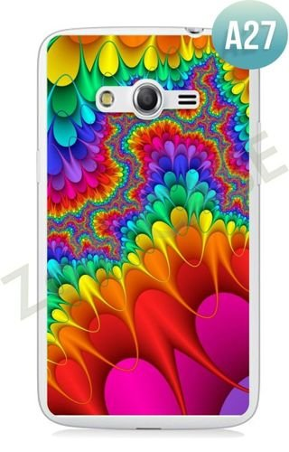 Etui Zolti Ultra Slim Case - Samsung Galaxy Core LTE - Abstract - Wzór A27