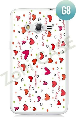 Etui Zolti Ultra Slim Case - Samsung Galaxy Core LTE - Girls Stuff - Wzór G8