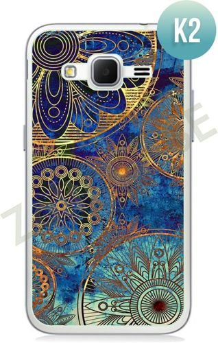 Etui Zolti Ultra Slim Case - Samsung Galaxy Core Prime - Colorfull- Wzór K2