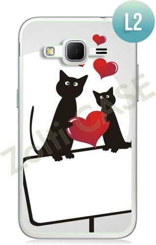 Etui Zolti Ultra Slim Case - Samsung Galaxy Core Prime - Romantic - Wzór L2