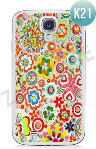 Etui Zolti Ultra Slim Case - Samsung Galaxy S4 - Colorfull - Wzór K21