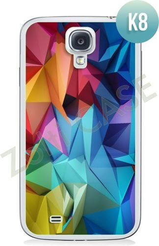 Etui Zolti Ultra Slim Case - Samsung Galaxy S4 - Colorfull- Wzór K8