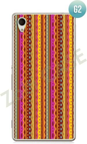 Etui Zolti Ultra Slim Case - Sony Xperia M4 Aqua - Girls Stuff - Wzór G2
