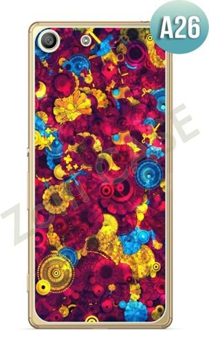 Etui Zolti Ultra Slim Case - Sony Xperia M5 - Abstract - Wzór A26