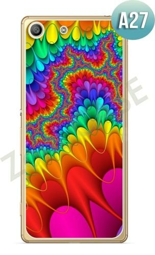 Etui Zolti Ultra Slim Case - Sony Xperia M5 - Abstract - Wzór A27