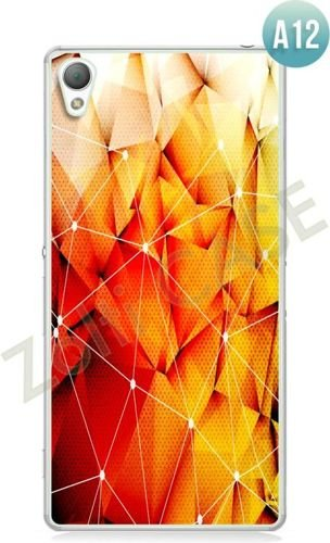 Etui Zolti Ultra Slim Case - Sony Xperia Z5 - Abstract - Wzór A12