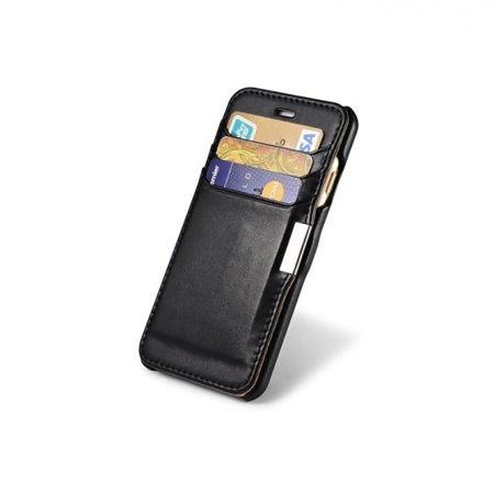 Etui iCarer Vintage Wallet Apple iPhone 6 / 6S Czarne